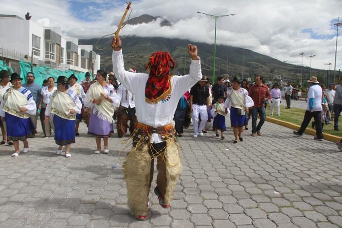 Con el Quinto Encuentro de los Pueblos. El Inti Raymi arrancó con gran emotividad en Imbabura