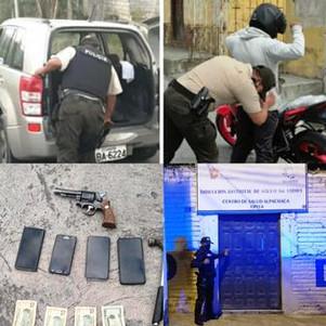 Efectivo trabajo policial en Imbabura