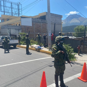 Fuerzas Armadas decomisan material explosivo