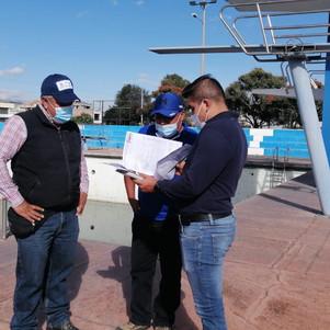 La piscina olímpica de Ibarra se convertirá en complejo deportivo