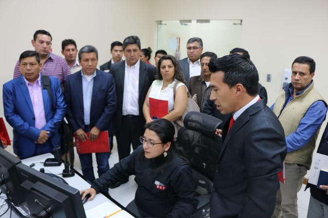 ECU 911 articula con GAD ́s de Imbabura acciones para fortalecer la seguridad ciudadana