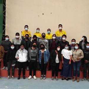 Adolescentes y jóvenes de la parroquia de Quichinche se beneficiarán con becas estudiantiles