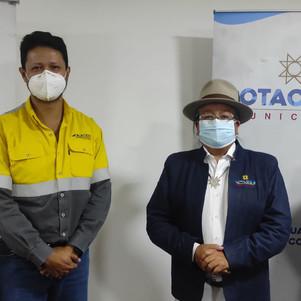 UNACEM Ecuador y el Gobierno Municipal de Cotacachi fortalecen acuerdos en favor de la población