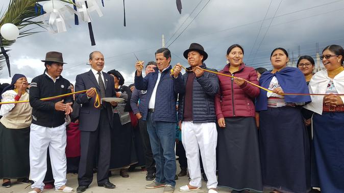 En un nuevo periodo administrativo. Autoridades de la prefectura de Imbabura asumen funciones