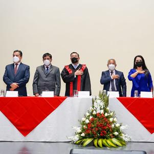 Judicatura participó de la conmemoración del centenario de la Corte Provincial de Imbabura