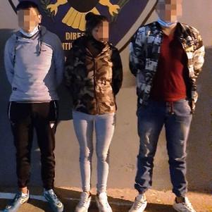 Tres presuntos expendedores de droga detenidos en Otavalo