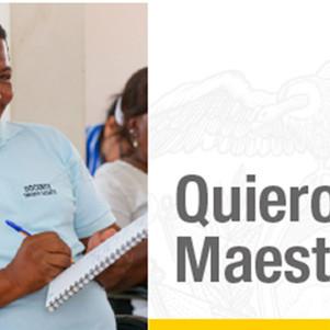 Ministerio de Educación abre la fase de postulación del concurso Quiero Ser Maestro 7