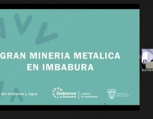Asambleístas receptaron observaciones de actores sociales de Imbabura sobre reforma a la ley minería