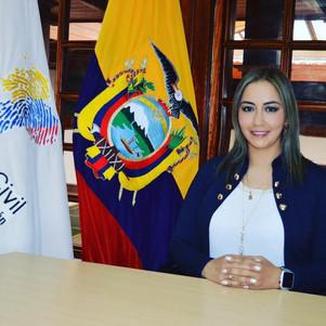 Nancy Cabrera es la nueva Coordinadora Zonal 1 del Registro Civil de Ecuador