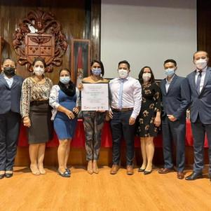Municipalidad de Ibarra recibió certificación como institución libre de violencia contra la mujer
