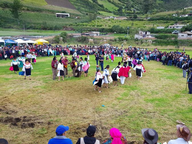 Iniciaron las celebraciones del Inti Raymi en Pimampiro