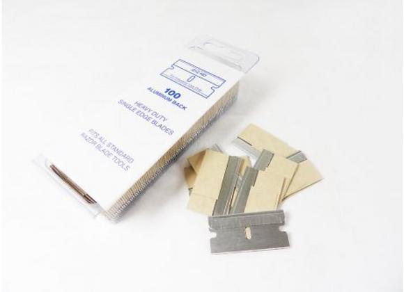 Boîte de 100 lames de rasoir 0.30mm