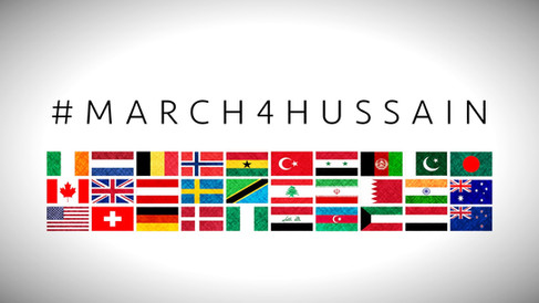 Ashura March in Europe and North America