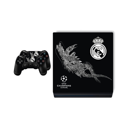 PS4 Pro Real Madrid CF #2 Skin For PlayStation 4