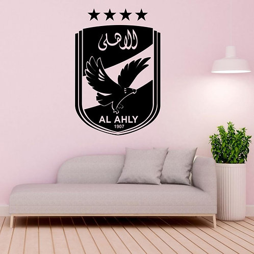 Al Ahly SC #1 Decal Wall Sticker