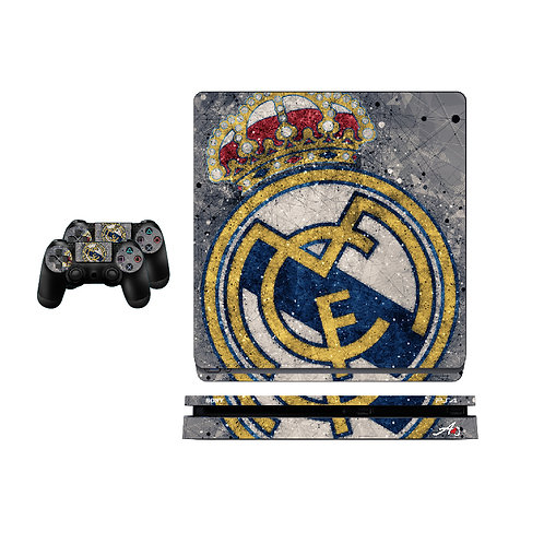 PS4 Slim Real Madrid CF #7 Skin For PlayStation 4