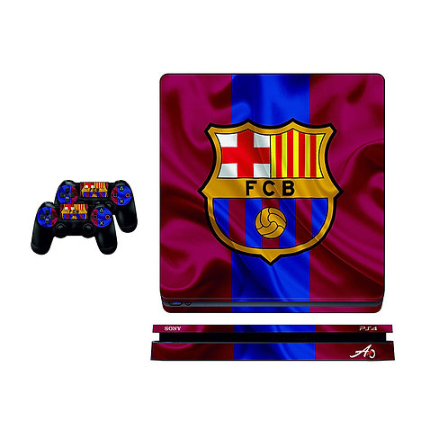 PS4 Slim FC Barcelona #3 Skin For PlayStation 4