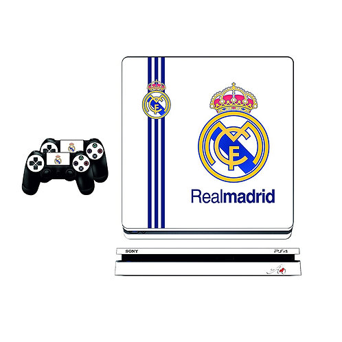 PS4 Slim Real Madrid CF #1 Skin For PlayStation 4