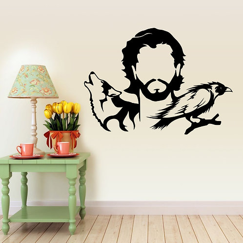 Game Of Thrones #3 Decal Wall Sticker