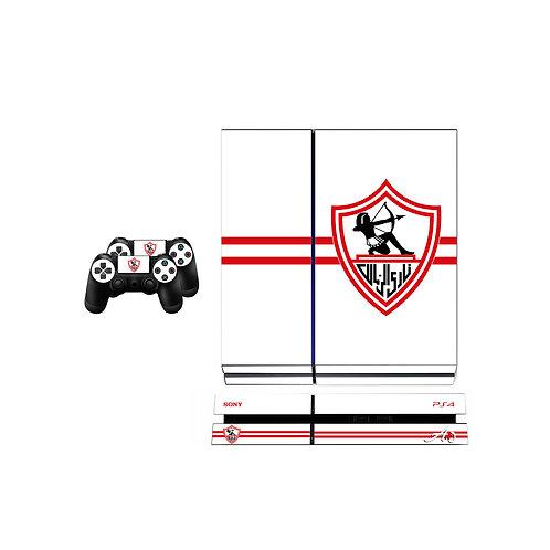 PS4 Standard Zamalek SC #1 Skin For PlayStation 4