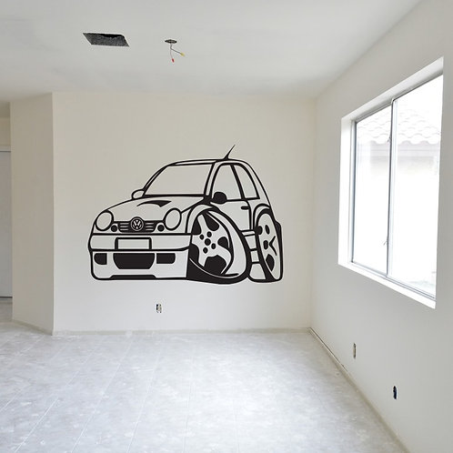 Rally Car Decal Wall Sticker