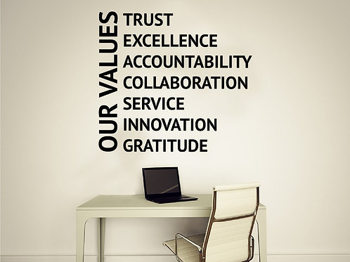 Office Quote #4 Decal Wall Sticker