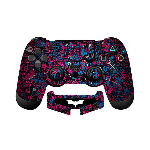 PS4 Sticker Bomb #5 Skin For PlayStation 4 Controller