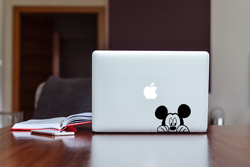 Mickey Decal Sticker For Laptop & MacBook