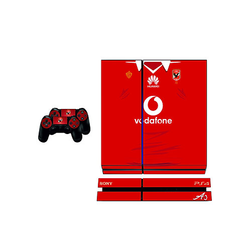 PS4 Standard Al Ahly SC #4 Skin For PlayStation 4