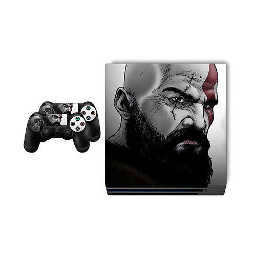 PS4 Pro God Of War Skin For PlayStation 4