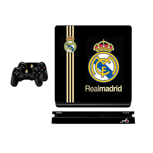 PS4 Slim Real Madrid CF #4 Skin For PlayStation 4