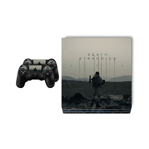 PS4 Pro Death Stranding Skin For PlayStation 4