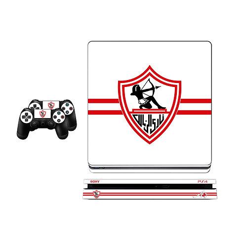 PS4 Slim Zamalek SC #1 Skin For PlayStation 4