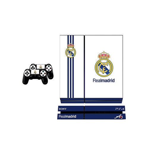 PS4 Standard Real Madrid CF #1 Skin For PlayStation 4