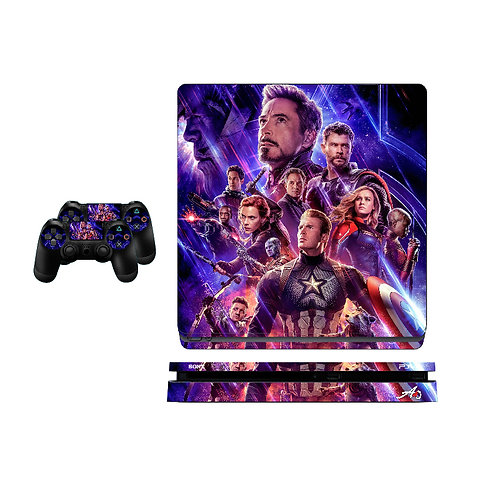 PS4 Slim The Avengers Skin For PlayStation 4