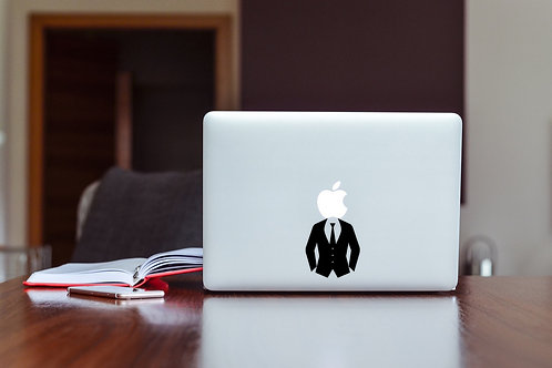 Business Man Decal Sticker For Laptop & MacBook