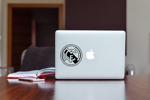 Real Madrid CF Decal Sticker For Laptop & MacBook