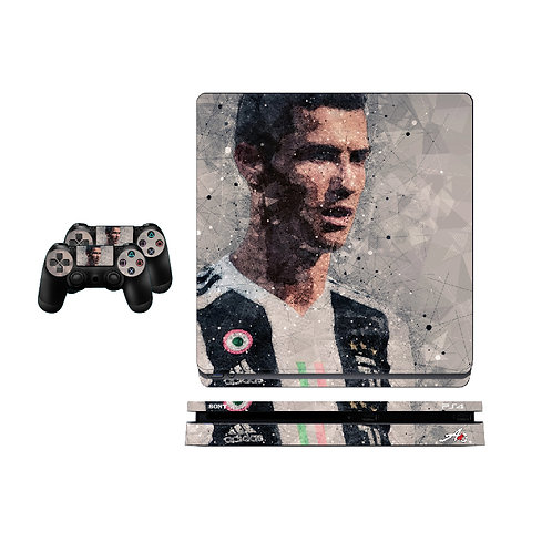 PS4 Slim CR7 #5 Skin For PlayStation 4
