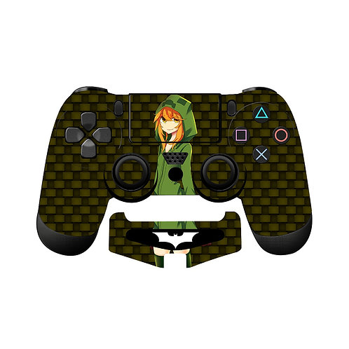 PS4 Anime Girl Skin For PlayStation 4 Controller