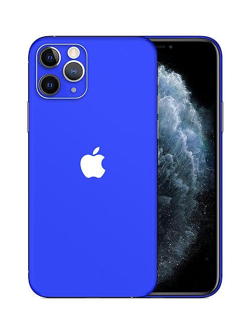 iPhone Blue Skin
