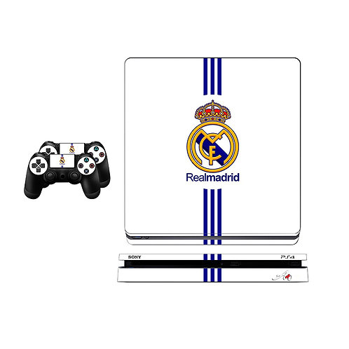 PS4 Slim Real Madrid CF #3 Skin For PlayStation 4