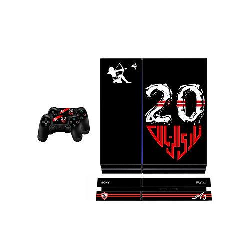 PS4 Standard Zamalek SC #3 Skin For PlayStation 4