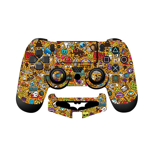 PS4 Sticker Bomb #3 Skin For PlayStation 4 Controller