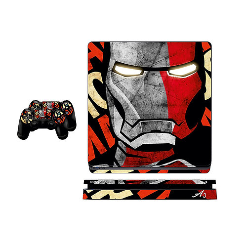 PS4 Slim Iron Man #1 Skin For PlayStation 4