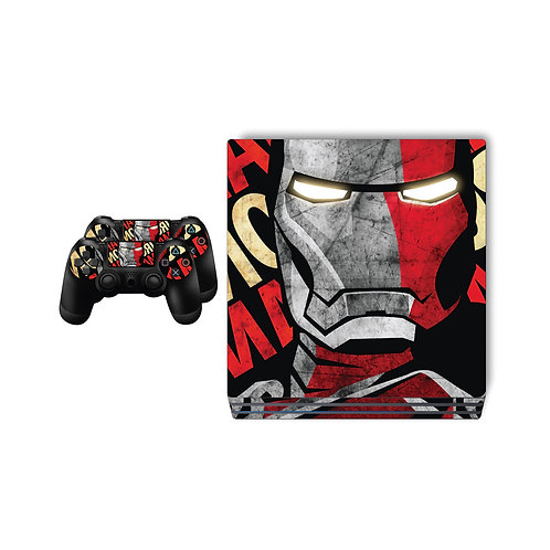 PS4 Pro Iron Man Skin For PlayStation 4