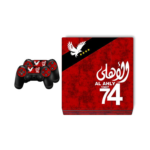 PS4 Pro Al Ahly SC #3 Skin For PlayStation 4