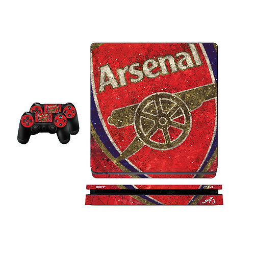 PS4 Slim Arsenal F.C. #1 Skin For PlayStation 4