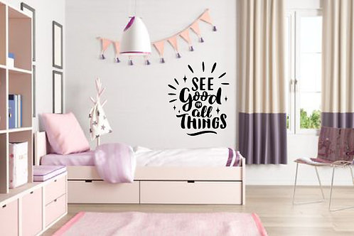 Home Quote #9 Decal Wall Sticker