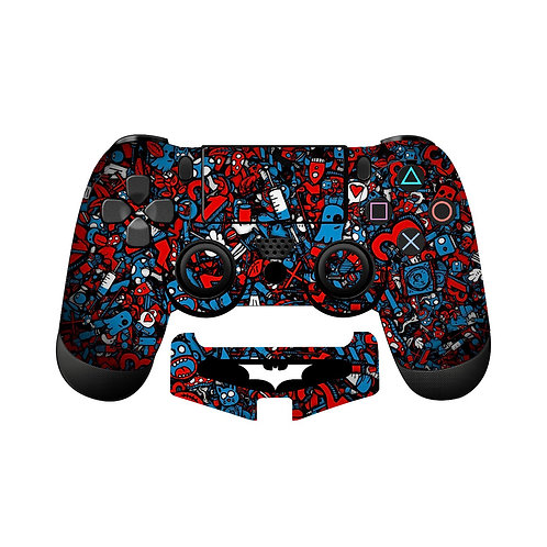 PS4 Sticker Bomb #2 Skin For PlayStation 4 Controller