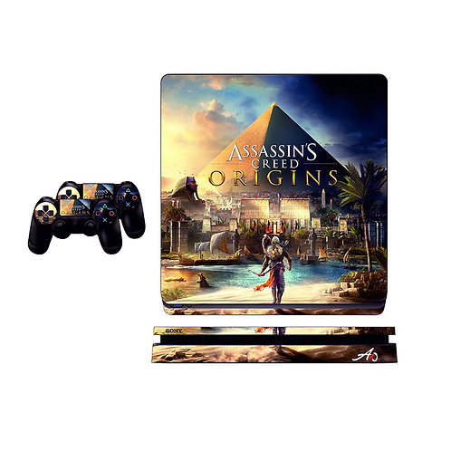 PS4 Slim Assassin's Creed #1 Skin For PlayStation 4